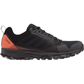 adidas TERREX TraceRocker GTX scarpe da corsa Uomo, core black/carbon/hi-res orange